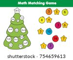 math educational game for... | Shutterstock .eps vector #754659613