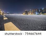 panoramic skyline and buildings ... | Shutterstock . vector #754667644