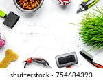 concept pet care and training...   Shutterstock . vector #754684393