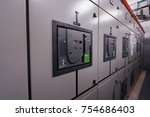 main distribution board ... | Shutterstock . vector #754686403