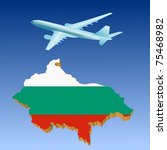 airlifts bulgaria | Shutterstock .eps vector #75468982