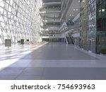 Public Interior Atrium. 3d...