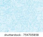 winter frosted glass abstract... | Shutterstock .eps vector #754705858
