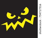 smile vector icon. abstract...   Shutterstock .eps vector #754717516