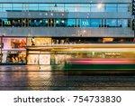 helsinki  finland   december 8  ... | Shutterstock . vector #754733830