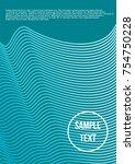 minimum geometric coverage.... | Shutterstock .eps vector #754750228