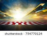view of the infinity empty...   Shutterstock . vector #754770124