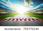 view of the infinity empty... | Shutterstock . vector #754770130