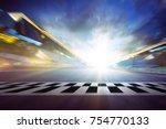 view of the infinity empty...   Shutterstock . vector #754770133