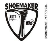 vintage logo  badge  emblem for ... | Shutterstock .eps vector #754771936