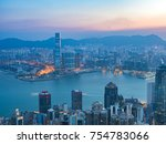 Hong Kong Beautiful Twilight Morning - Fine Art prints