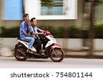 jakarta  indonesia  13th... | Shutterstock . vector #754801144