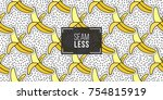 seamless pattern background... | Shutterstock .eps vector #754815919