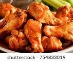 hot and spicy  delicious deep... | Shutterstock . vector #754833019