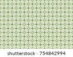 vintage pattern art design   Shutterstock .eps vector #754842994