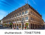 strasbourg  france  august 06... | Shutterstock . vector #754877098