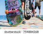 odessa ukraine 21 august 2017...   Shutterstock . vector #754884268