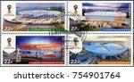 st. petersburg  russia   august ... | Shutterstock . vector #754901764