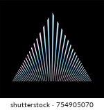 Holographic Triangle On Dark...
