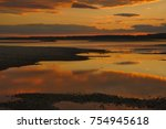 shallows on the river danube at ... | Shutterstock . vector #754945618