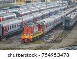 moscow  russia  oct 26  2017 ... | Shutterstock . vector #754953478
