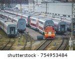 moscow  russia  oct 26  2017 ... | Shutterstock . vector #754953484