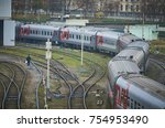 moscow  russia  oct 26  2017 ... | Shutterstock . vector #754953490