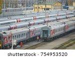 moscow  russia  oct 26  2017 ... | Shutterstock . vector #754953520