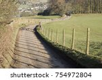 A Country Lane Leading To...
