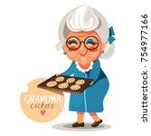 adorable  cute  cartoon  flat... | Shutterstock .eps vector #754977166