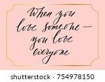 inspirational phrase... | Shutterstock .eps vector #754978150