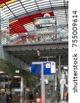 amsterdam central station  blur ... | Shutterstock . vector #755009614