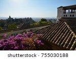 generalife and the gardens ... | Shutterstock . vector #755030188