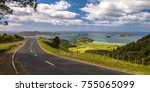 inviting road through new...   Shutterstock . vector #755065099
