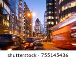 london office building... | Shutterstock . vector #755145436