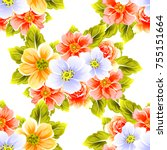 abstract elegance seamless...   Shutterstock .eps vector #755151664