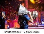 saint petersburg  russia  ... | Shutterstock . vector #755213008