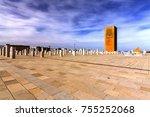 rabat  morocco   january 8 ... | Shutterstock . vector #755252068