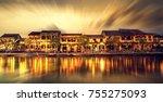 hoi an vietnam   february 2... | Shutterstock . vector #755275093