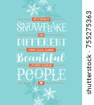 holiday card  banner or poster... | Shutterstock .eps vector #755275363