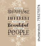 holiday card  banner or poster... | Shutterstock .eps vector #755275576