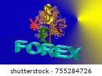 symbols money signs 3d   Shutterstock . vector #755284726