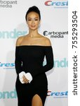 draya michele at the los... | Shutterstock . vector #755293504