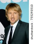 owen wilson at the los angeles... | Shutterstock . vector #755293510