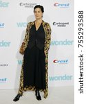 carrie anne moss at the los... | Shutterstock . vector #755293588
