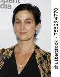 carrie anne moss at the los... | Shutterstock . vector #755294770