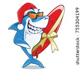 Smiling Shark With Sunglasses...