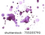 abstract watercolor background...   Shutterstock . vector #755355793