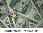 Coin With Dollar Sign With...