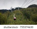 Canada sky ride gondola life - stock photo